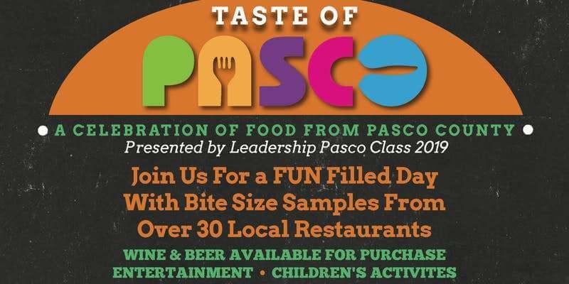 Taste of Pasco poster